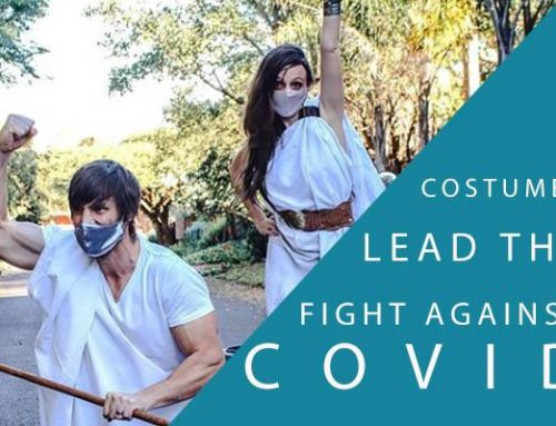 Costumes lead the fight against Covid